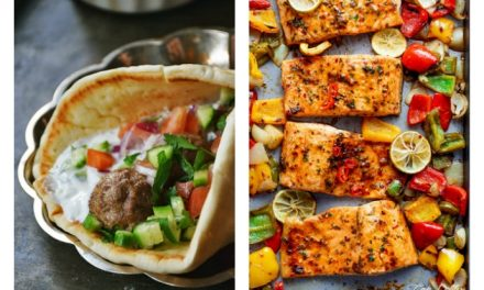 Next week's meal plan: 5 easy recipes for the week ahead, from sheet pan salmon to skinny Honey Lemon Chicken.