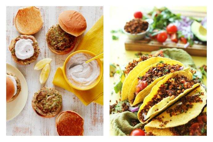 Next week's meal plan: 5 easy dinner recipes to get you through, from Turkey Zucchini Burgers to Quinoa Tacos.