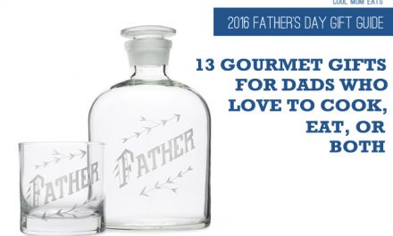 13 seriously cool gourmet gifts for dads who love to cook, eat, or both. (So all of them.) | 2016 Father's Day Gift Guide