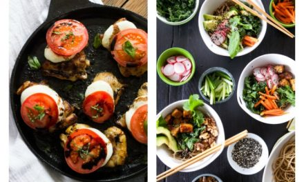 Next week's meal plan: 5 easy recipes for the week ahead, from a summery take on chicken parm to build-your-own noodle bowls.