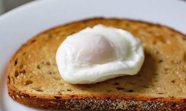 How to poach eggs with a trick from the kitchen goddess herself, Julia Child.