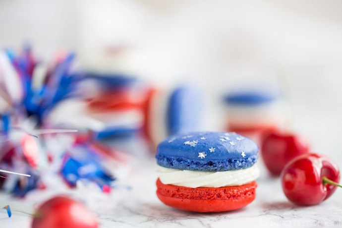 30+ delicious 4th of July treats for your red, white and blue cookout.