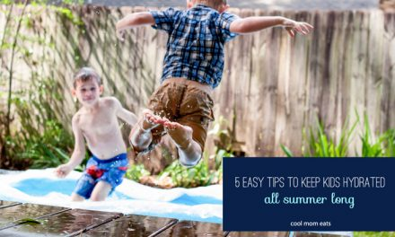 5 easy tips to help keep kids hydrated. . . all summer long.