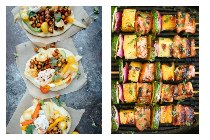 Next week's meal plan: 5 easy recipes for the week ahead, from #MeatlessMonday fajitas to a Thai twist on burgers.