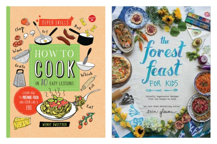 5 cookbooks for kids who actually want to learn how to cook — or are willing to try.