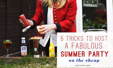 5 tricks to host a fabulous outdoor party on a budget.