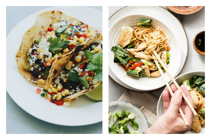 Next week's meal plan: 5 easy recipes for the week ahead, from an easy Chicken Chow Mein to a simple Spanish tortilla.