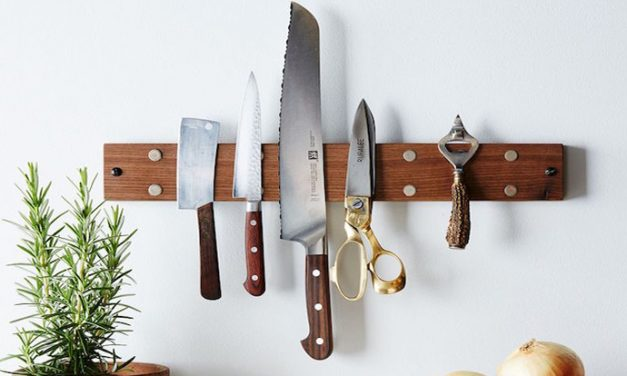 7 cool ways to store kitchen knives properly