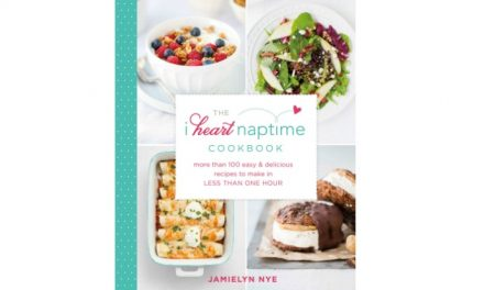 We heart the new I Heart Naptime cookbook. And this Peanut Butter Brownie Ice Cream Sandwiches recipe.