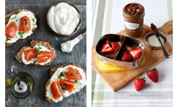 5 nut-free spreads that are way more fun than peanut butter, anyway. | Back to School Lunch Guide 2016