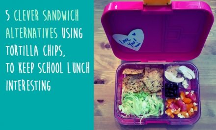Sandwich alternatives: 5 creative ways to ditch the bread and use tortilla chips in school lunches
