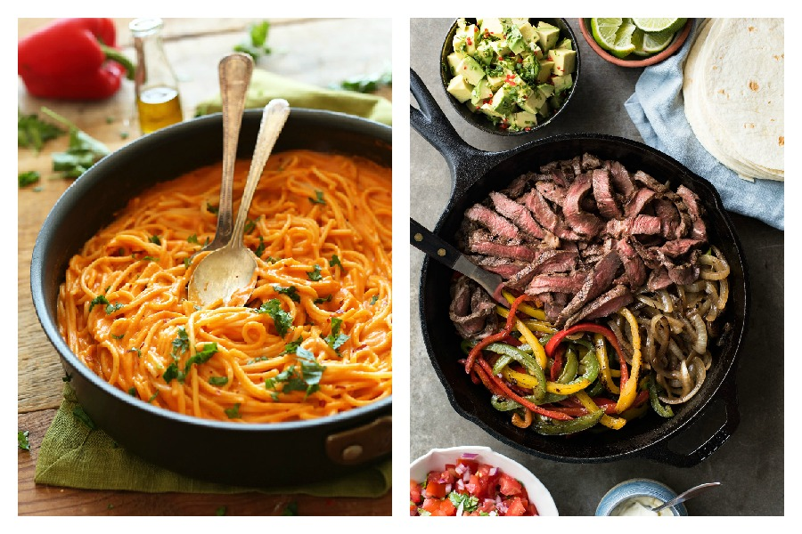 Next week's meal plan: 5 easy recipes for the week ahead, from a clever pasta dish to easy beef fajitas.