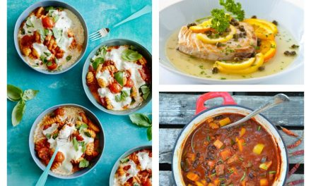 Next week's meal plan: 5 easy recipes for the week ahead, from a 10-minute healthy fish dinner to cheesy baked gnocchi.