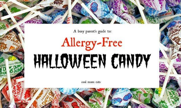 Our go-to allergy-friendly Halloween candy that lets kids with the most common food allergies enjoy treats too.