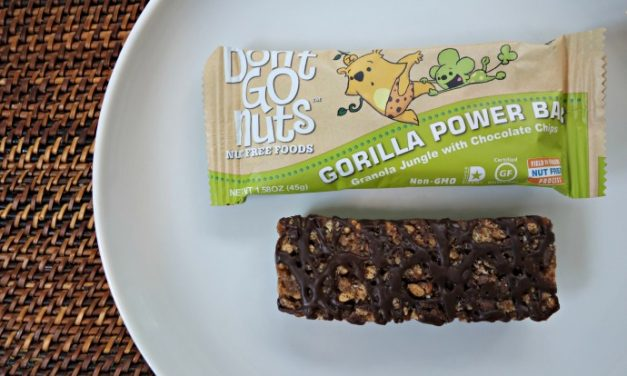 4 granola bars for kids with peanut and tree nut allergies.