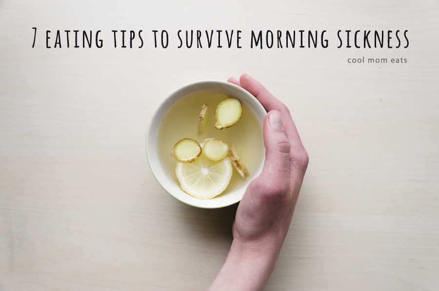 7 eating tips that helped me survive morning sickness. Even on a 10-day hiking trip. In August. With my in-laws.
