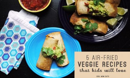 How to fry without fat: Sweet Potato Taquitos and 4 other healthy air-fried vegetable recipes that kids will love.