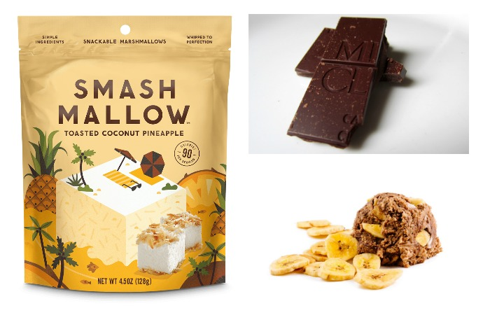 Indulgent snacks for grownups: Amazing chocolate, fancy marshmallows, and cookie dough that's safe to eat raw, just the way we like it.