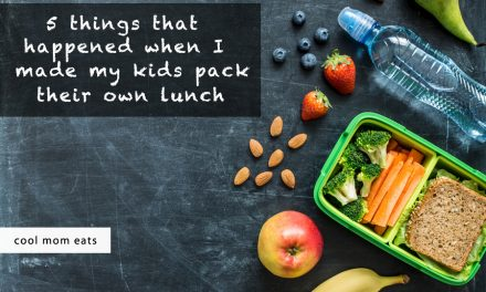 5 things that happened when I made my kids pack their own school lunches.
