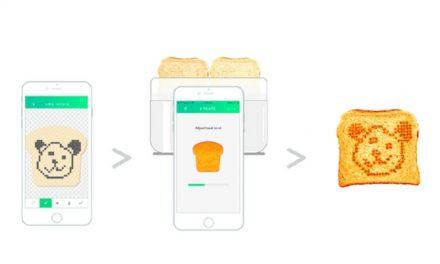 Toasteroid: The emoji-baking, weather-forecast-toasting toaster of the future