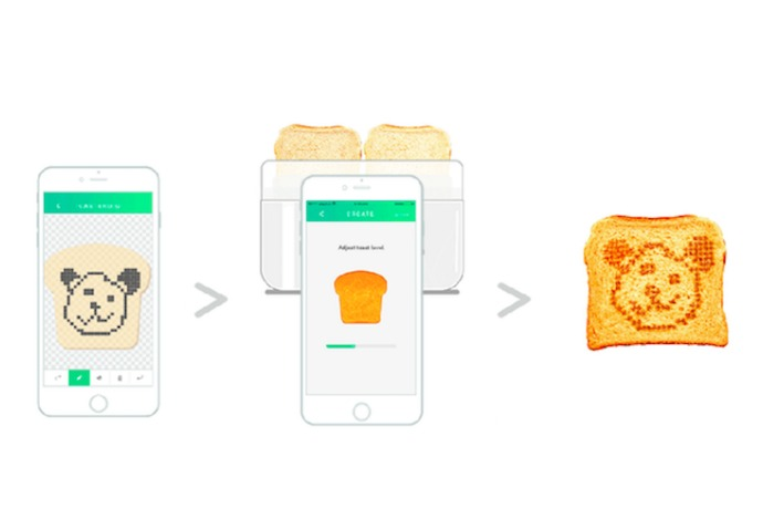 Toasteroid: The emoji-baking, weather-forecast-toasting toaster of the future