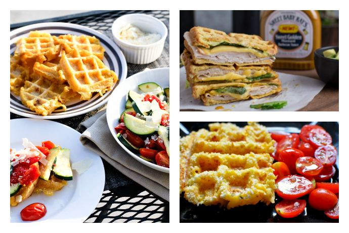 All the easiest, best dinners you never knew you could make on a waffle iron.