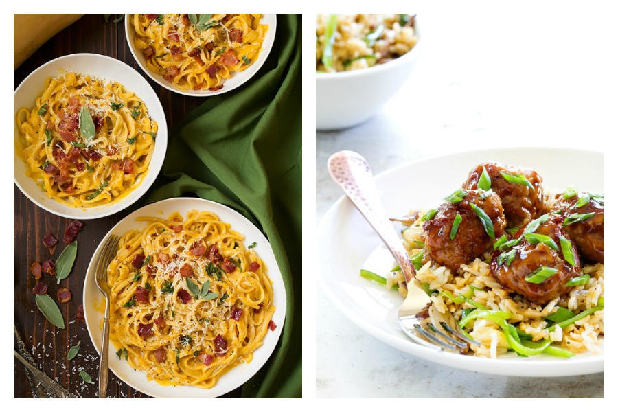 Next week's meal plan: 5 easy recipes for the week ahead, from a fall Carbonara to your new favorite meatballs.