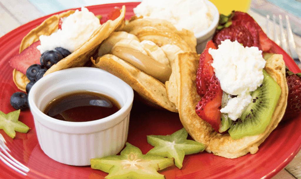 Back to School Breakfasts: Pancake Tacos from The Starving Chef