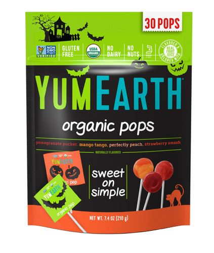 YumEarth makes delicious allergy-friendly Halloween candy. | Cool Mom Eats