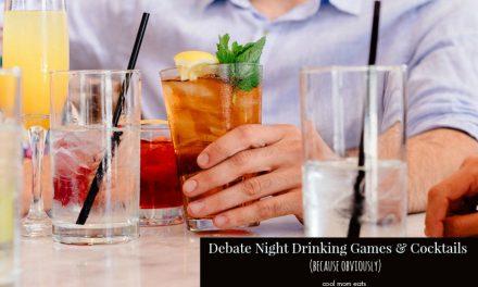 Debate night drinking game. Because debate night. And drinking.