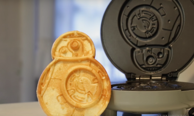 The BB-8 Waffle Maker: These are the carbs you've been looking for.