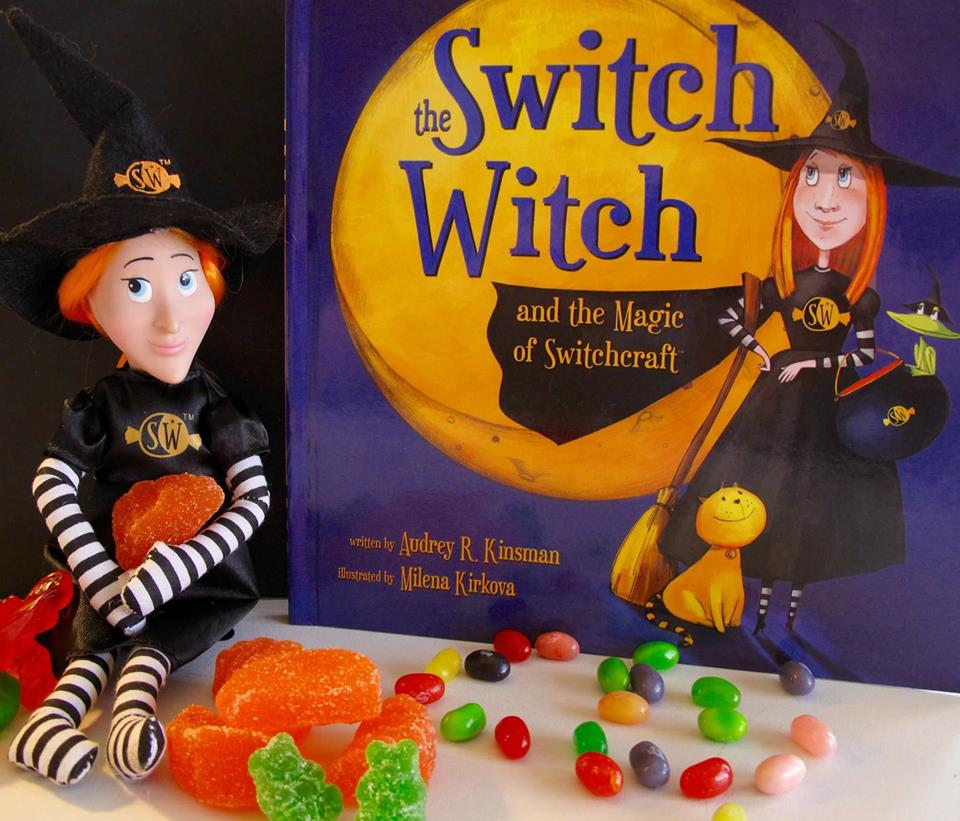 The Switch Witch trades candy for fun toys on Halloween. This system, which comes with a doll and book, is especially great for kids with food allergies since they often can't eat much of their trick-or-treating haul. | Cool Mom Eats