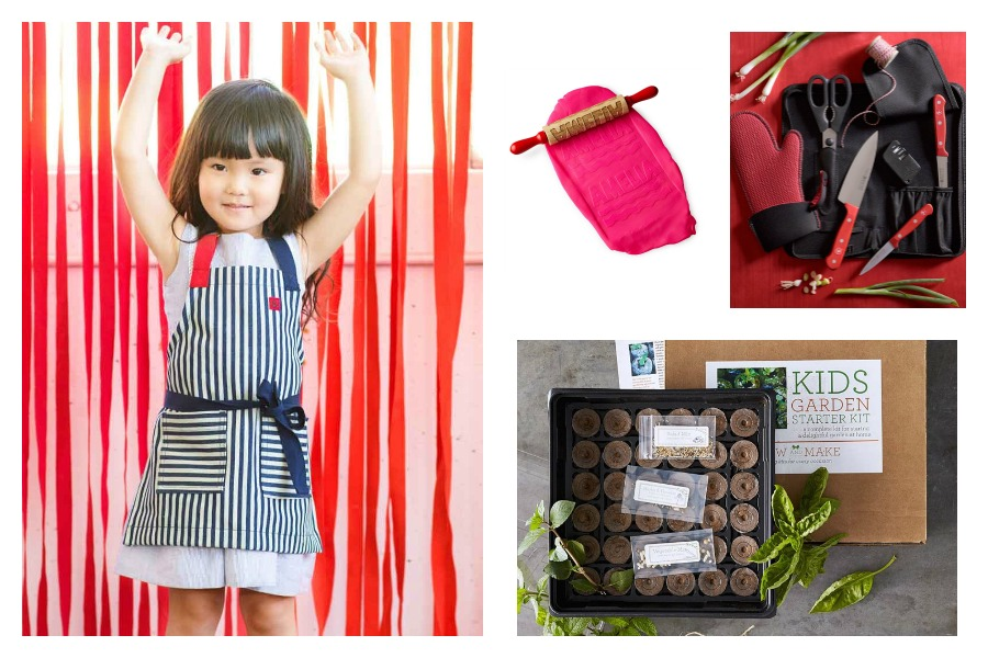 Fabulous gift ideas to get kids in the kitchen | Cool Mom Eats holiday gift guide 2016