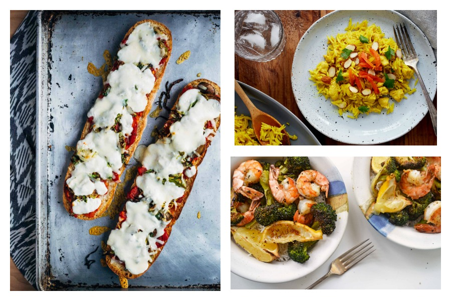 Next week's meal plan: 5 easy recipes for the week ahead, from a fancy one-pot chicken and rice to a four-ingredient chili.