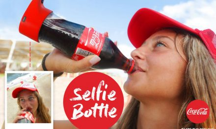 Web Coolness: Coke's new selfie bottle, iridescent flatware, and a cheese hot glue gun. We can't make this stuff up.