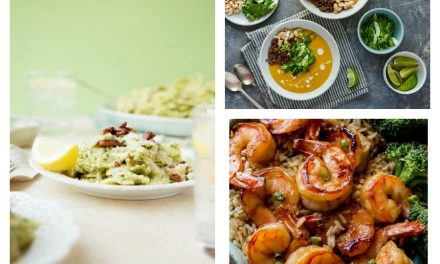 Next week's meal plan: 5 easy recipes for the week ahead, keeping it light on calories and cooking time too.