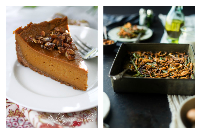 15 Gluten-free Thanksgiving recipes for appetizers, sides and dessert that will keep everyone satisfied this turkey day.