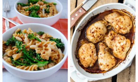 Next week's meal plan: 5 easy recipes for the week ahead, from a delicious twist on baked chicken to my favorite one-pan shrimp.