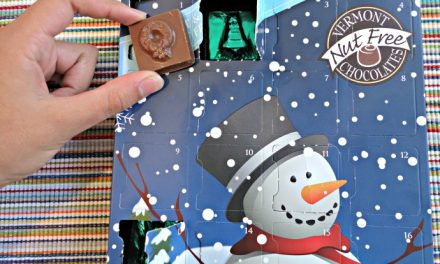 4 Advent calendars with allergen-free chocolate for kids to count down to Christmas safely.