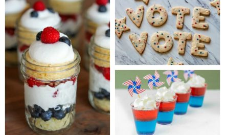 5 election day sweets for election day stress eating, because oh my goodness it's finally election day.