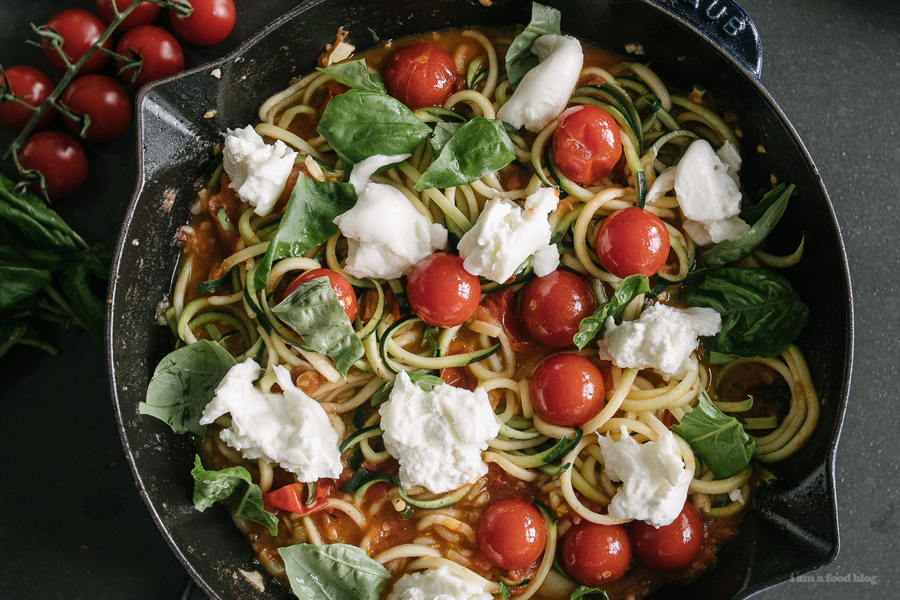 Next week's meal plan: 5 easy recipes for the week ahead, from slow cooker meatballs to oodles of zoodles topped with creamy burrata.