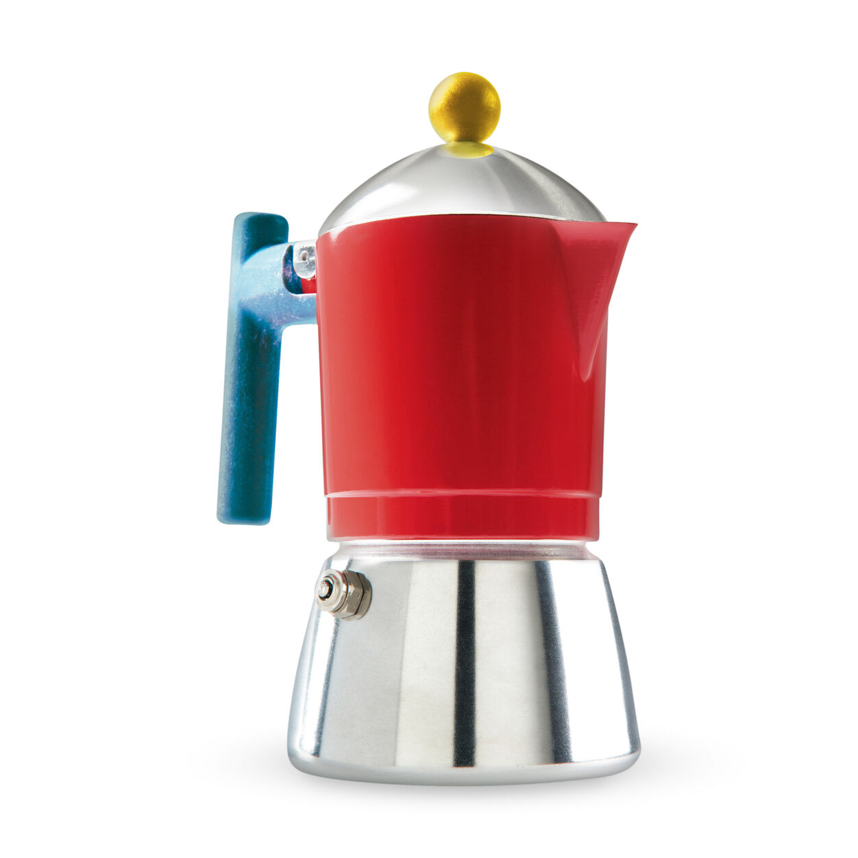 Gourmet hostess gifts under $50: Cocca Moka Espresso pot from the MoMA design store