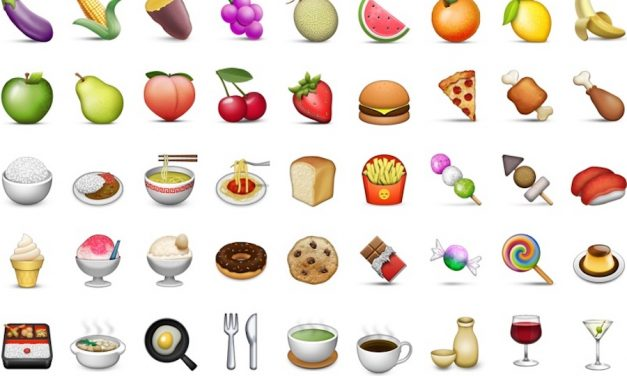 Web Coolness: A brief history of food emoji, the right way to eat a chicken wing, and the best cookbooks of the year.