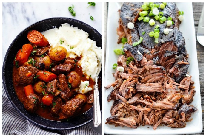 10 slow cooker and instant pot holiday dinner recipes cool mom eats santa came early this year 10 holiday dinner recipes you can make in a slow forumfinder Choice Image