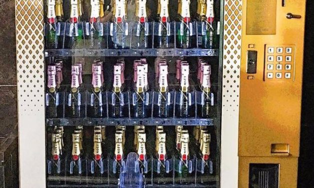 """Web Coolness: Champagne vending machines, a smart oven you control with an app, and what other countries think of as """"American food."""""""