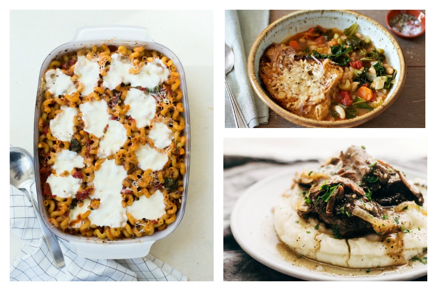 Next week's meal plan: 5 easy recipes for the week ahead, from a soul warming roast to pasta with Awesome Sauce.
