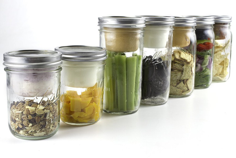 Kitchen Hack Diy Mason Jar Snack Pack Cool Mom Eats