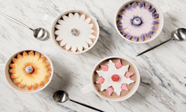 Blooming marshmallow flowers: Because Dominique Ansel's hot chocolate is better than yours.