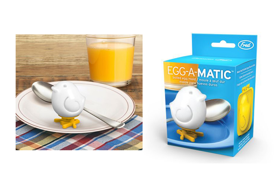 The cutest egg mold ever: Get it now, win breakfast always.