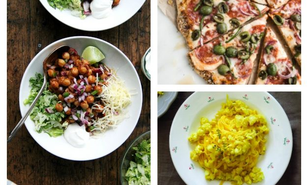 Next week's meal plan: 5 easy recipes for the week ahead, from a fresh take on tacos to a sweet idea for pizza night.